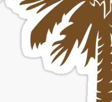 Brown Palmetto Moon Sticker by Palmetto Trading