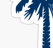 Blue Carolina Girl Palmetto Moon Sticker by Palmetto Trading