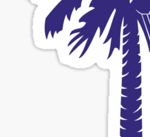 Purple Carolina Girl Palmetto Moon Sticker by Palmetto Trading