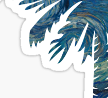 Starry Night Palmetto Moon Sticker by Palmetto Trading