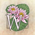 W is for Water Lily