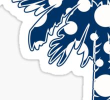 Blue Polka Dots Palmetto Moon Sticker by Palmetto Trading