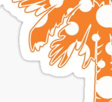 Orange Polka Dots Palmetto Moon Sticker by Palmetto Trading