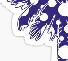 Purple Polka Dots Palmetto Moon Sticker by Palmetto Trading
