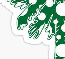 Green Polka Dots Palmetto Moon Sticker by Palmetto Trading