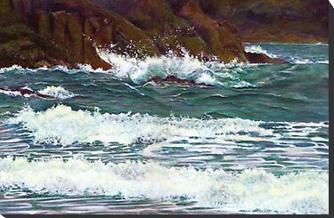 South Devon seascape painting for sale