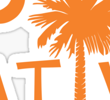 Orange South Carolina Palmetto Moon Native Sticker by Palmetto Trading