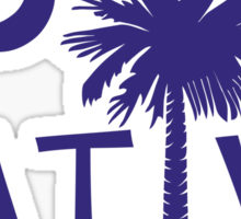 Purple South Carolina Palmetto Moon Native Sticker by Palmetto Trading