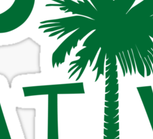 Green South Carolina Palmetto Moon Native Sticker by Palmetto Trading