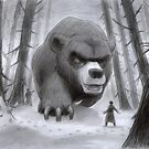 Snow Art: Vlad and Lev confront the Great Bear by Daniel Rodgers