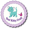 Teal Kitty  Craft