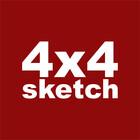 4x4 Sketch