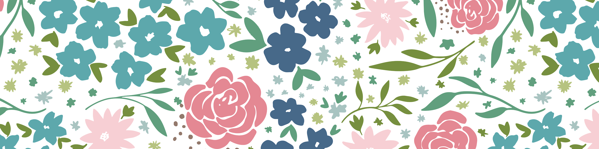 Floral Illustrations   LZ Cathcart   Surface pattern