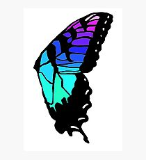 Brand new eyes' butterfly wing inspired fan art Photographic Print
