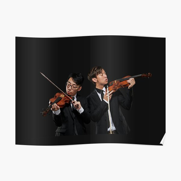 twoset violin - brett and eddy - dynamic duo Poster