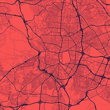Madrid Map by duzhd