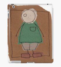 Brown paper boy iPad Case/Skin