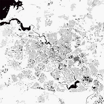 Minsk Map by duzhd