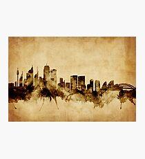 Sydney Australia Skyline Photographic Print