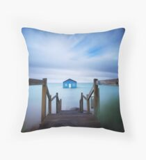 Crawley Boat Shed, Perth Throw Pillow