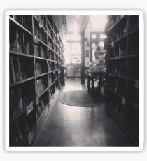 The Dusty Bookstore. Sticker