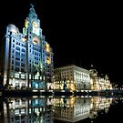 Liver Buildings, Liverpool by lee kerr