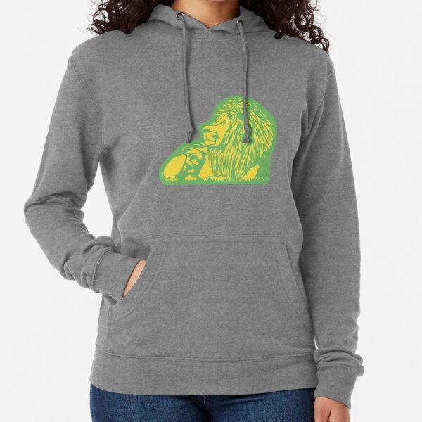 Lounging Lion with Cutout Lightweight Hoodie