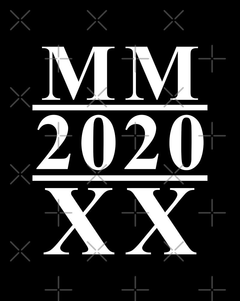 2020 in roman numerals