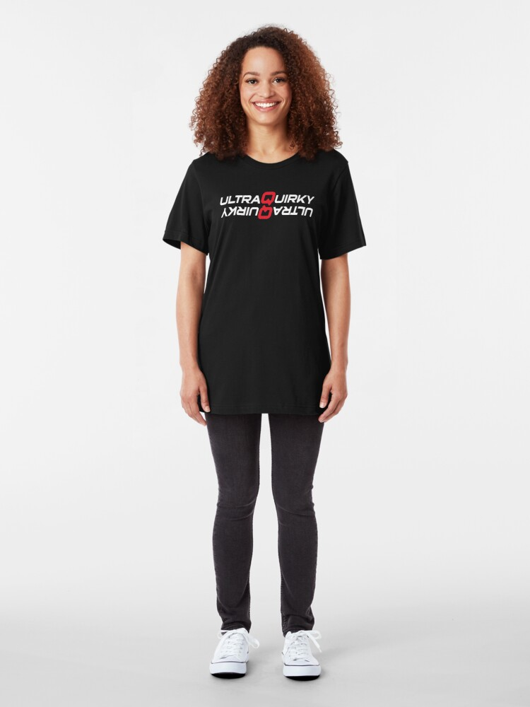 Alternate view of Doubly Ultra Quirky. Slim Fit T-Shirt