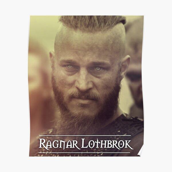 Ragnar Lothbrok - Wikinger Poster