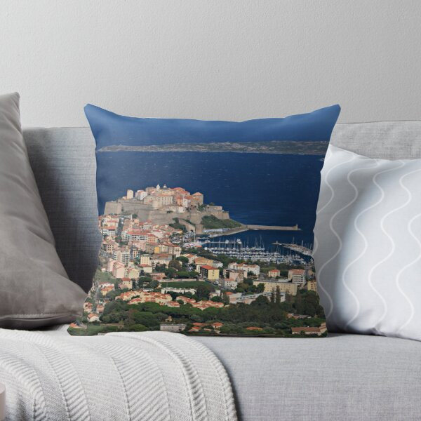 Corsica_0297 Throw Pillow