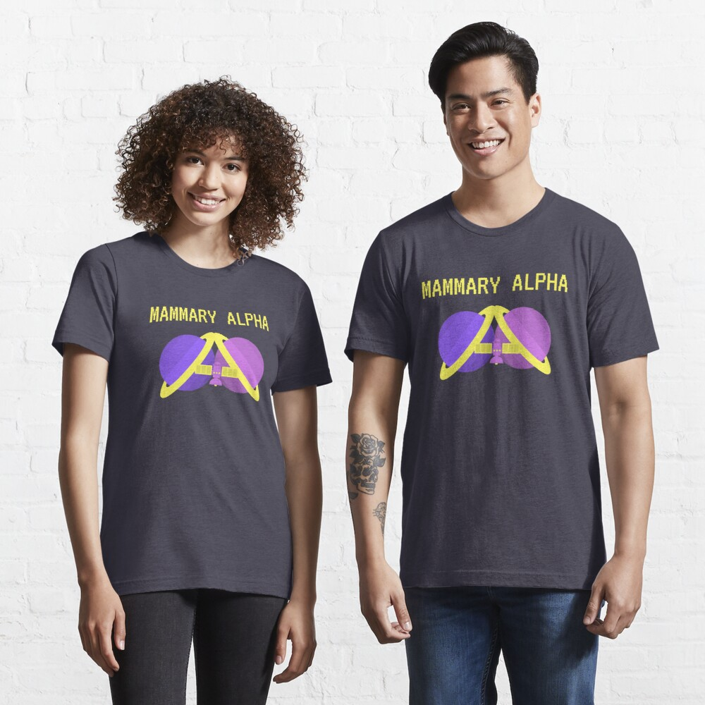 Mammary Alpha logo shirt season 2 colors Essential T-Shirt