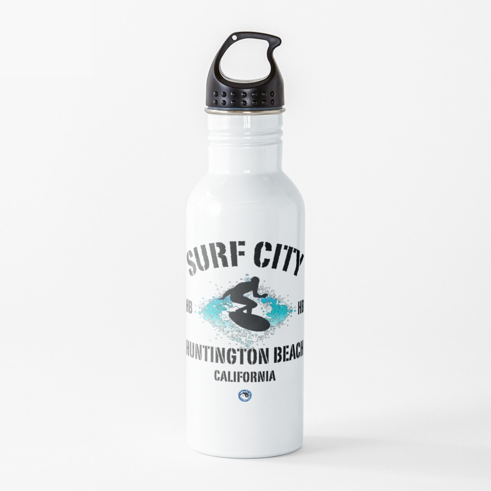 Surf City - Huntington Beach Water Bottle