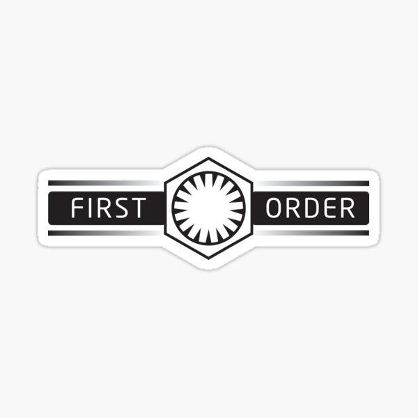 First Order // Infinite BANDIT Sticker