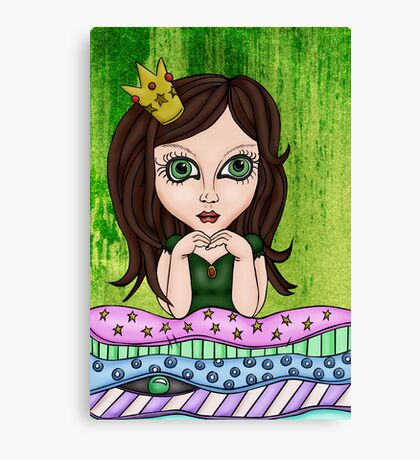 The Princess And The Pea Canvas Print