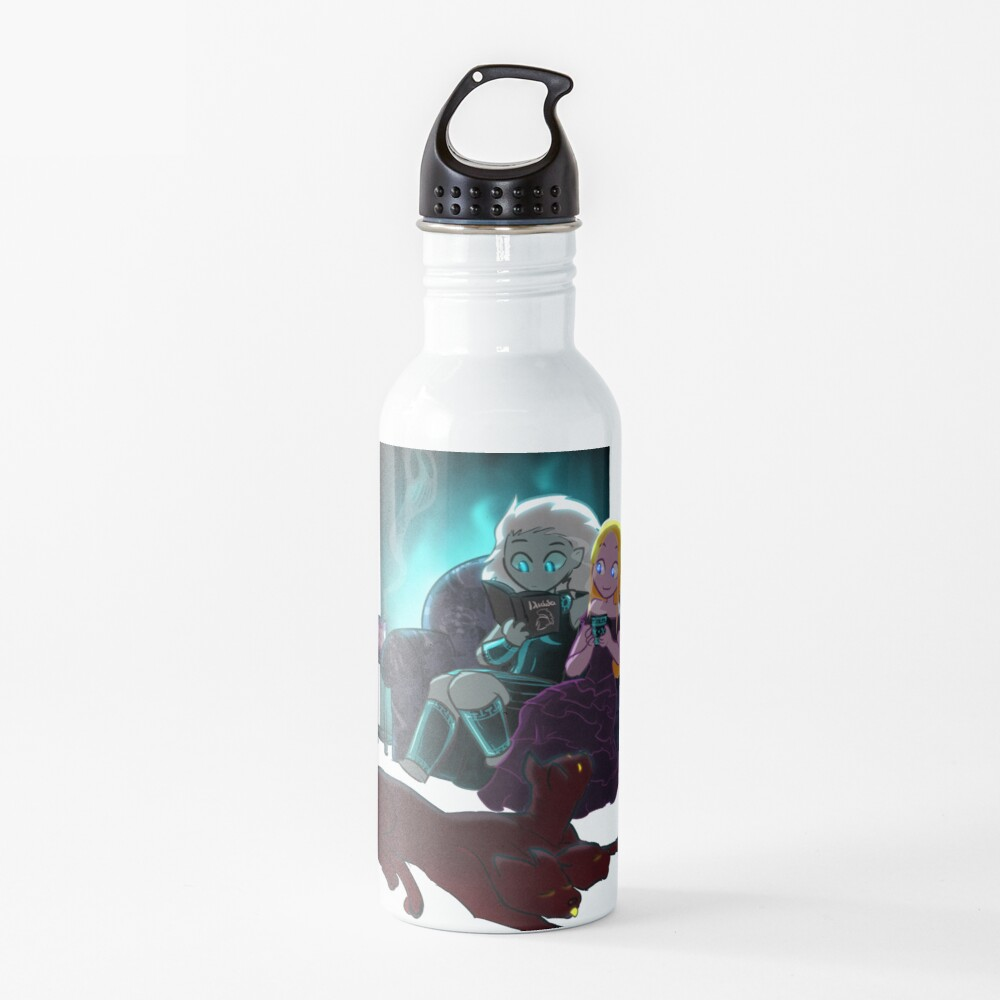 Cozy Winter Night Water Bottle