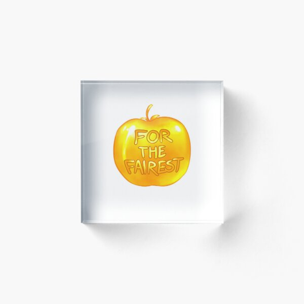 Apple of Discord Acrylic Block