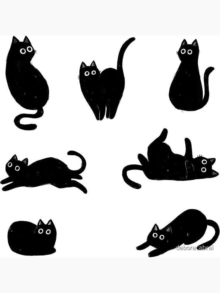 black cat pattern by deboracabral