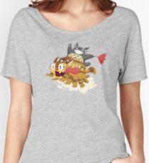 Cat Fink Bus Women's Relaxed Fit T-Shirt