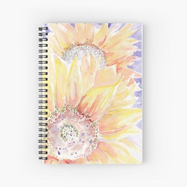 Sunflowers vertical Spiral Notebook