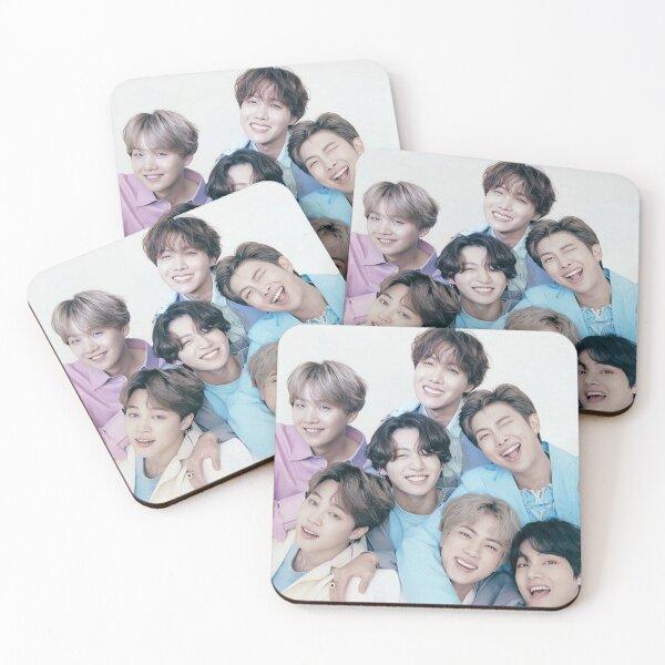 BTS group photo Coasters (Set of 4)