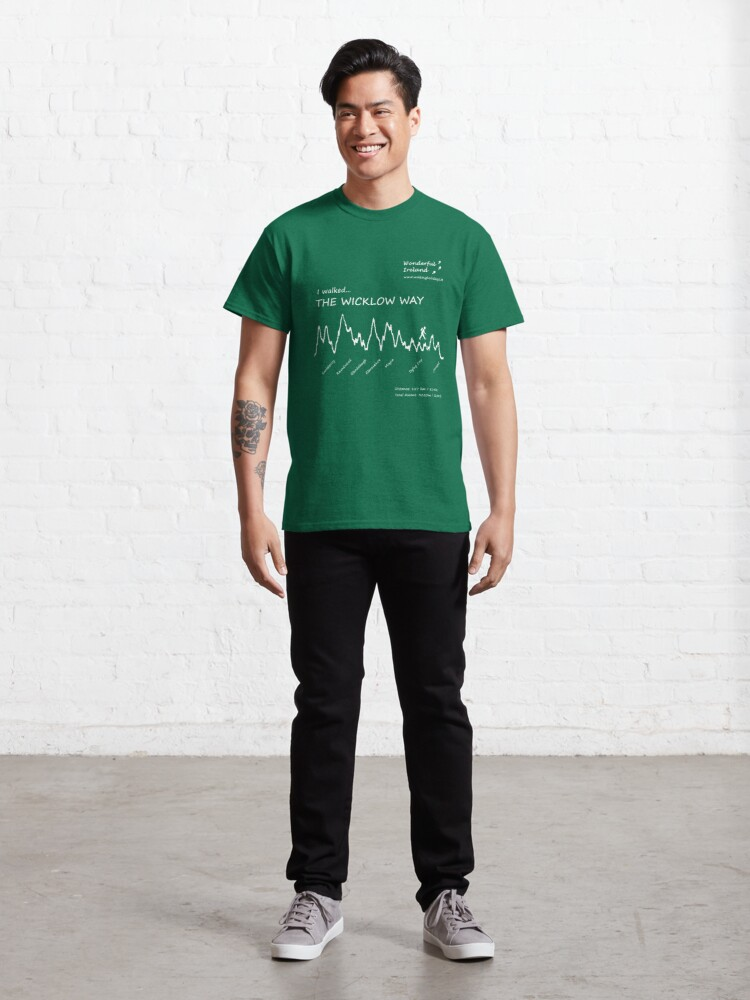 Alternate view of The Wicklow Way with Wonderful Ireland Classic T-Shirt