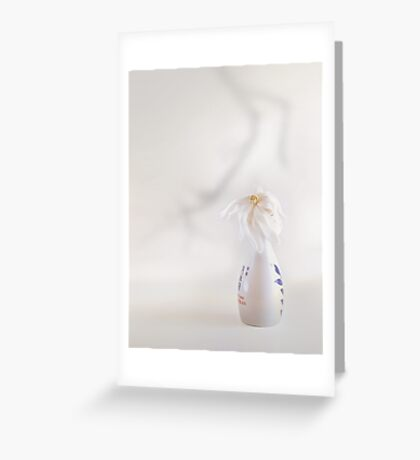 Nice In White Satin (2) Greeting Card