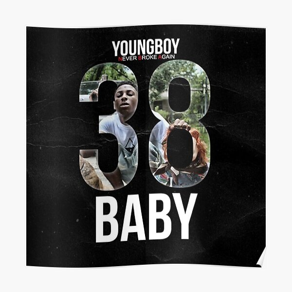 NBA YoungBoy 38 Baby Poster