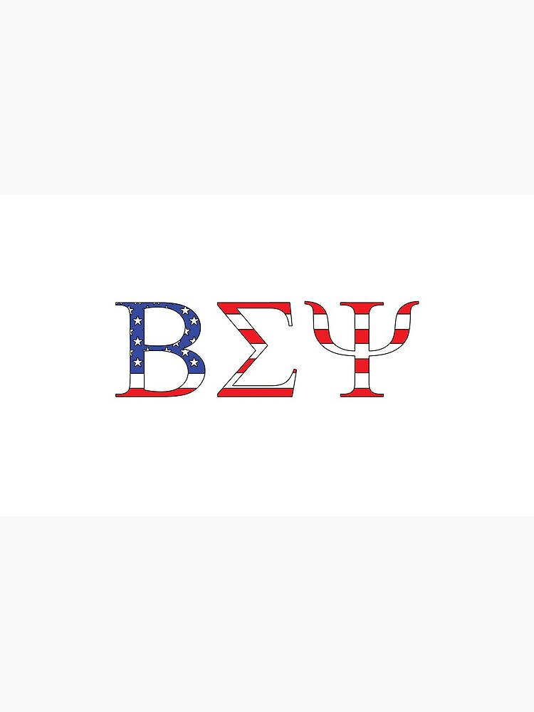 Beta Sigma Psi - American flag by betasigmapsi