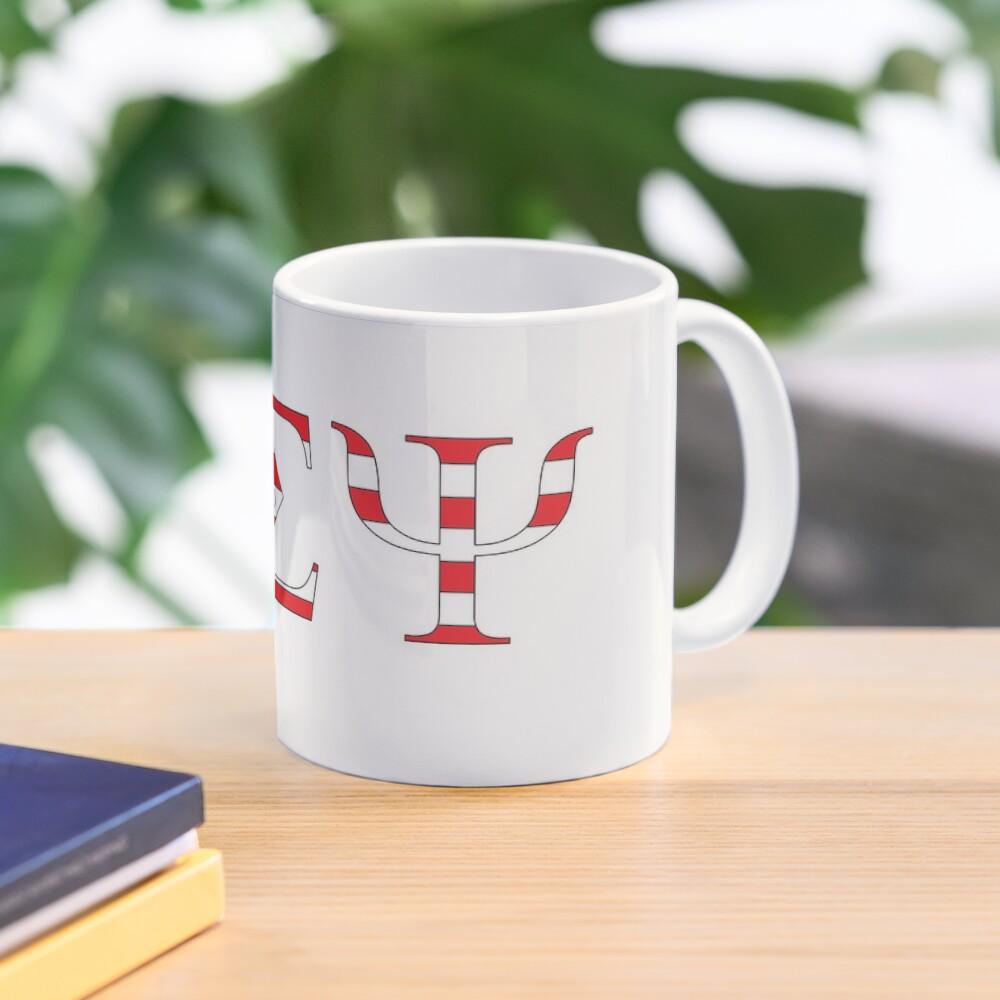 Beta Sigma Psi - American flag Mug