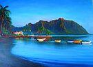 Kaneohe Bay - early morn by jyruff