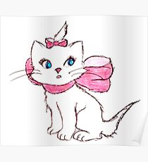 Marie Aristocats Poster