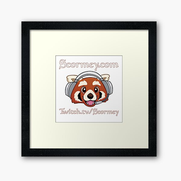 Happy Scormey! Framed Art Print