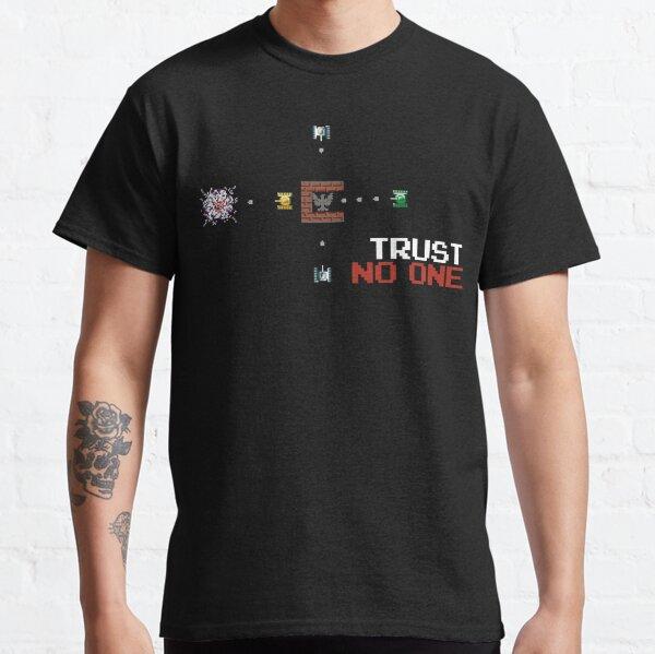 BATTLE CITY - Trust No One - Battle City NES Dendy Nintendo Дeнди // Infinite BANDIT Classic T-Shirt